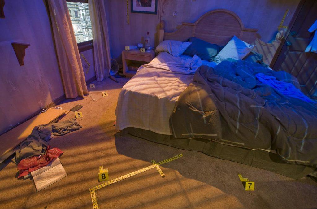 Apartment Crime Scene