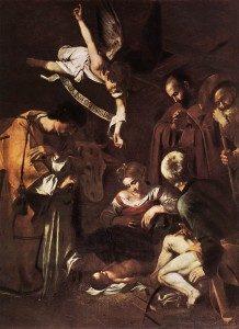 Caravaggios Nativity