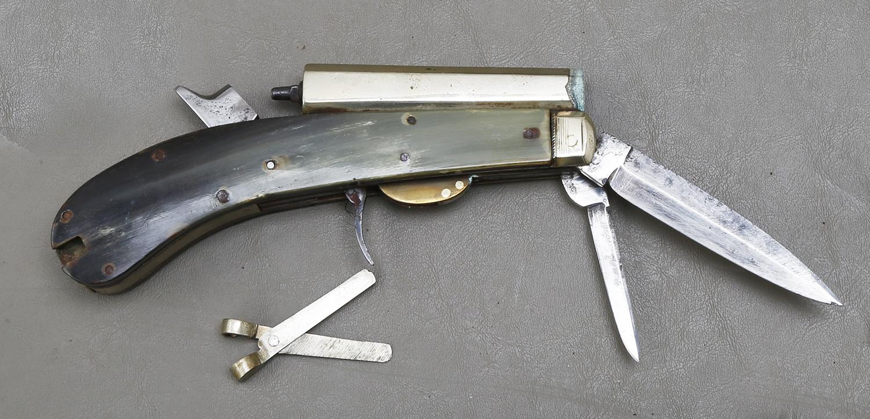 Unwin & Rodgers Knife Pistol