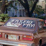 fry bundy car sign